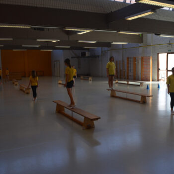 Salle de gym - primaire