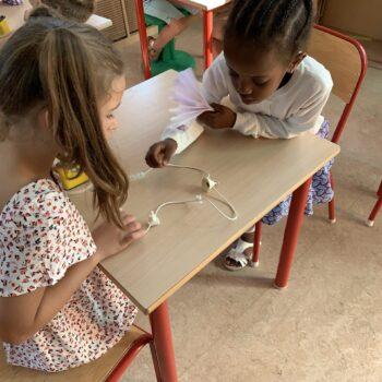 Cours en maternelle