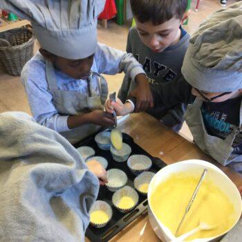 Activité pâtisserie - maternelle